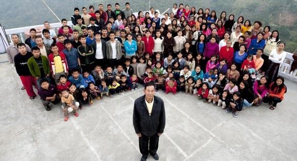 39 mogli e 94 figli...una famiglia numerosa!